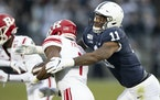 Penn State linebacker Micah Parsons (11) opted out of the 2020 college season to prepare for the NFL draft.