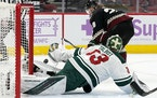 Cam Talbot will be back in net Wednesday night for the Wild against the Coyotes.