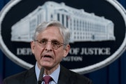 """Attorney General Merrick Garland: """"Yesterday's verdict in the state criminal trial does not address potentially systemic policing issues in Minnea"""
