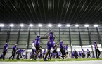 Many Vikings won't be participating in the formal, in-person offseason training program.