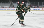 Minnesota Wild defenseman Matt Dumba