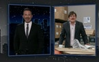 "James Adomian as Mike Lindell on ""Jimmy Kimmel Live."""