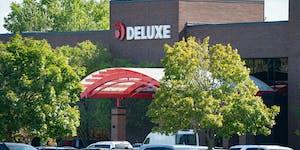 Deluxe Corp Shoreview, Minnesota headquarters.  (GLEN STUBBE/Star Tribune)
