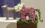 A floral arrangement that was part of 2016's Art in Bloom.