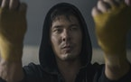 "Lewis Tan in ""Mortal Kombat.""  Warner Bros. Pictures"