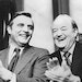 """Walter Mondale and Hubert Humphrey in """"Fritz: The Walter Mondale Story."""""""
