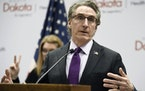 North Dakota Gov. Doug Burgum vetoed the bill because he said it attempts to address a problem that does not exist.