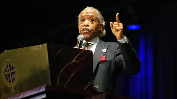 Rev. Al Sharpton delivers eulogy for Daunte Wright