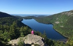 """Acadia National Park in Maine was submitted by Britta Dornfeld. """"This park has mountains, forests, the ocean and great hiking (you can be the first"""