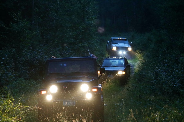 The proposed route for four-wheelers and others is set on existing roadways.