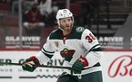 Ryan Hartman and the Wild beat the Coyotes in Arizona on Wednesday night.