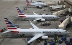 "American Airlines Group Inc. reported a first-quarter loss of nearly $1.3 billion, but several airline leaders believe ""the worst is behind"" the t"