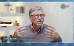 In this image from video, Bill Gates speaks during the White House Climate Leaders Summit, Friday, April 23, 2021. The White House is bringing out the