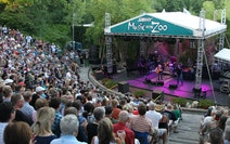 The Minnesota Zoo amphitheater was packed for Willie Nelson's Music in the Zoo concert in 2013 — maybe too packed by 2021 standards.