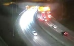 A deadly crash in the westbound lanes of Interstate 94 on Sunday night forced authorities to close the freeway for several hours.