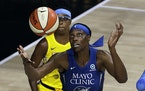 Sylvia Fowles is back for the Lynx after an injury-plagued 2020 season.