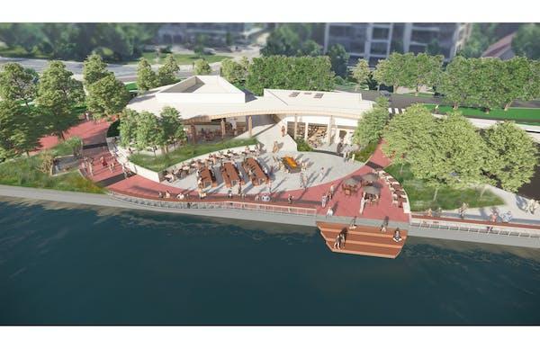 Minneapolis Park Board unveils new Bde Maka Ska pavilion design