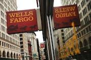 A Wells Fargo bank branch in New York City.