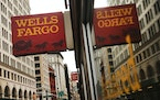 A Wells Fargo bank branch in New York City.