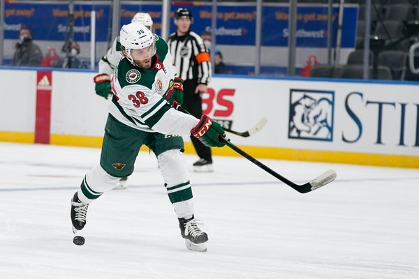 Minnesota Wild's Ryan Hartman
