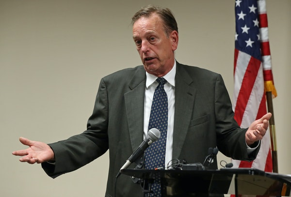 Washington County Attorney Pete Orput, shown in 2018.