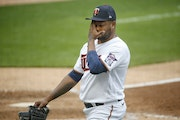 Veteran reliever Alexander Colome hasn't had the smoothest of Aprils in his first month with the Twins.