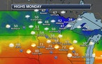 Precipitation Chances Continue Into The First Half Of The Week