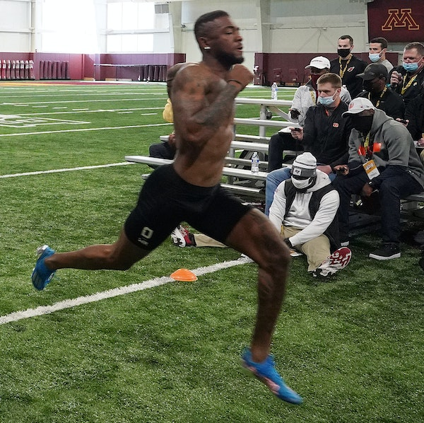 clearer direction Rashod Bateman's numbers posted before scouts at his pro day carry more weight than statistics from an interrupted final season at