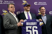 Rick Spielman and the Vikings have made it a habit to target offensive linemen early in the draft, including selecting center Garrett Bradbury No. 18