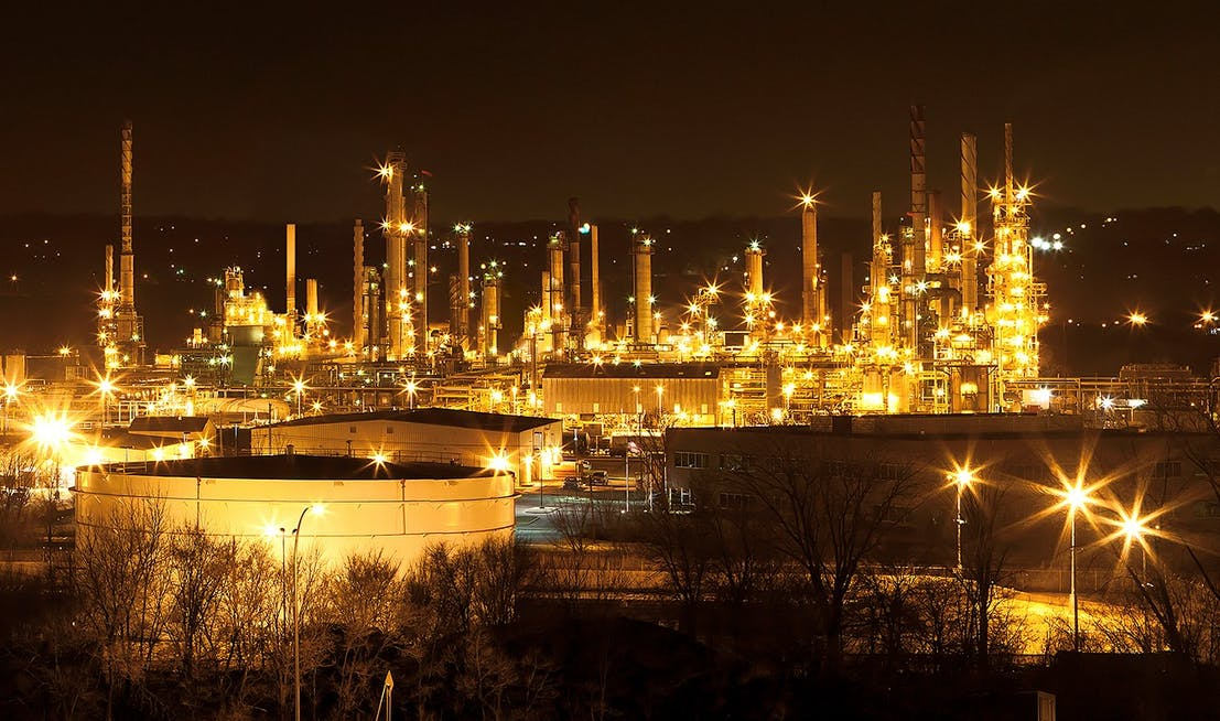 The refinery in St. Paul Park, currently owned by Marathon Petroleum, is the oldest in Minnesota.