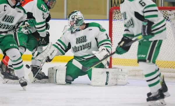 The Hill-Murray boys' hockey team was knocked out of the state tournament in March because of a COVID-19 exposure involving its opponent in the sect