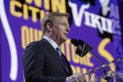 Will Roger Goodell announce another offensive lineman as the Vikings' top pick on Thursday night?