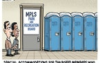 Sack cartoon: A solution for the Minneapolis Park and Recreation Board