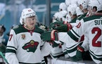 Minnesota Wild left wing Kirill Kaprizov