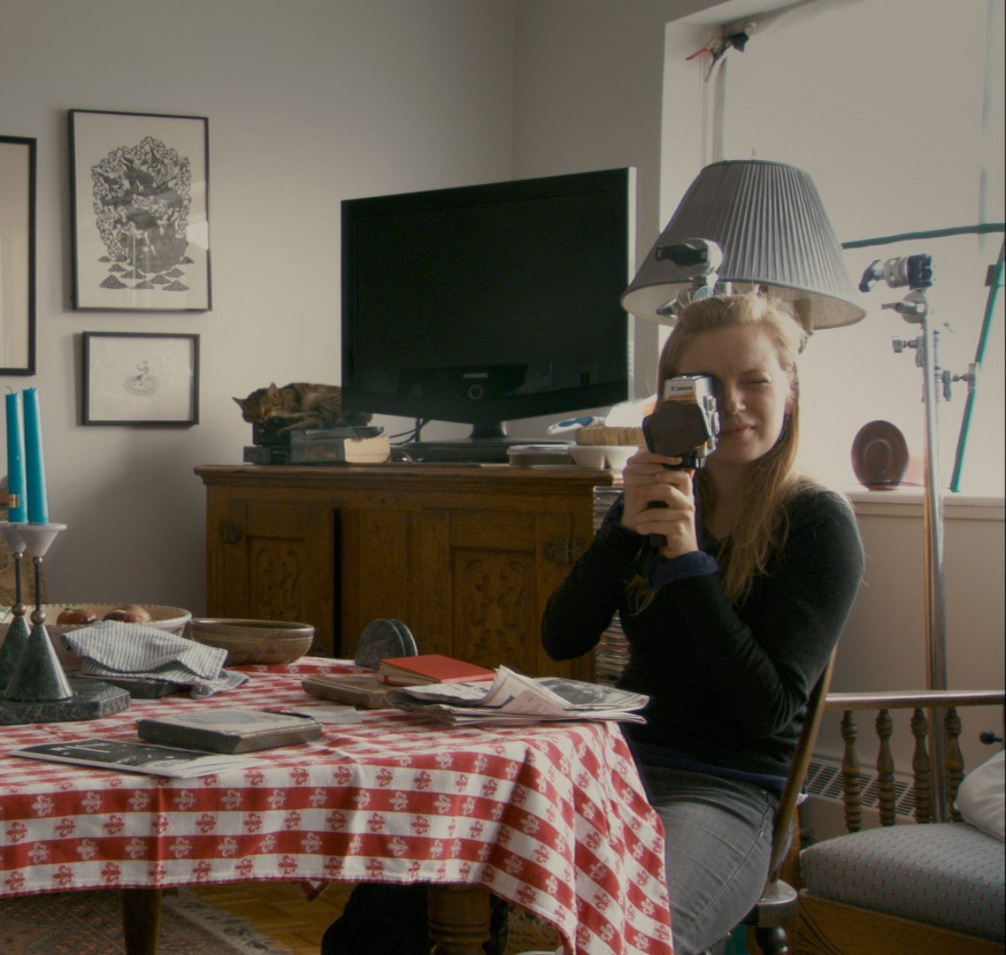Director Sarah Polley in scene from 'Stories We Tell.'