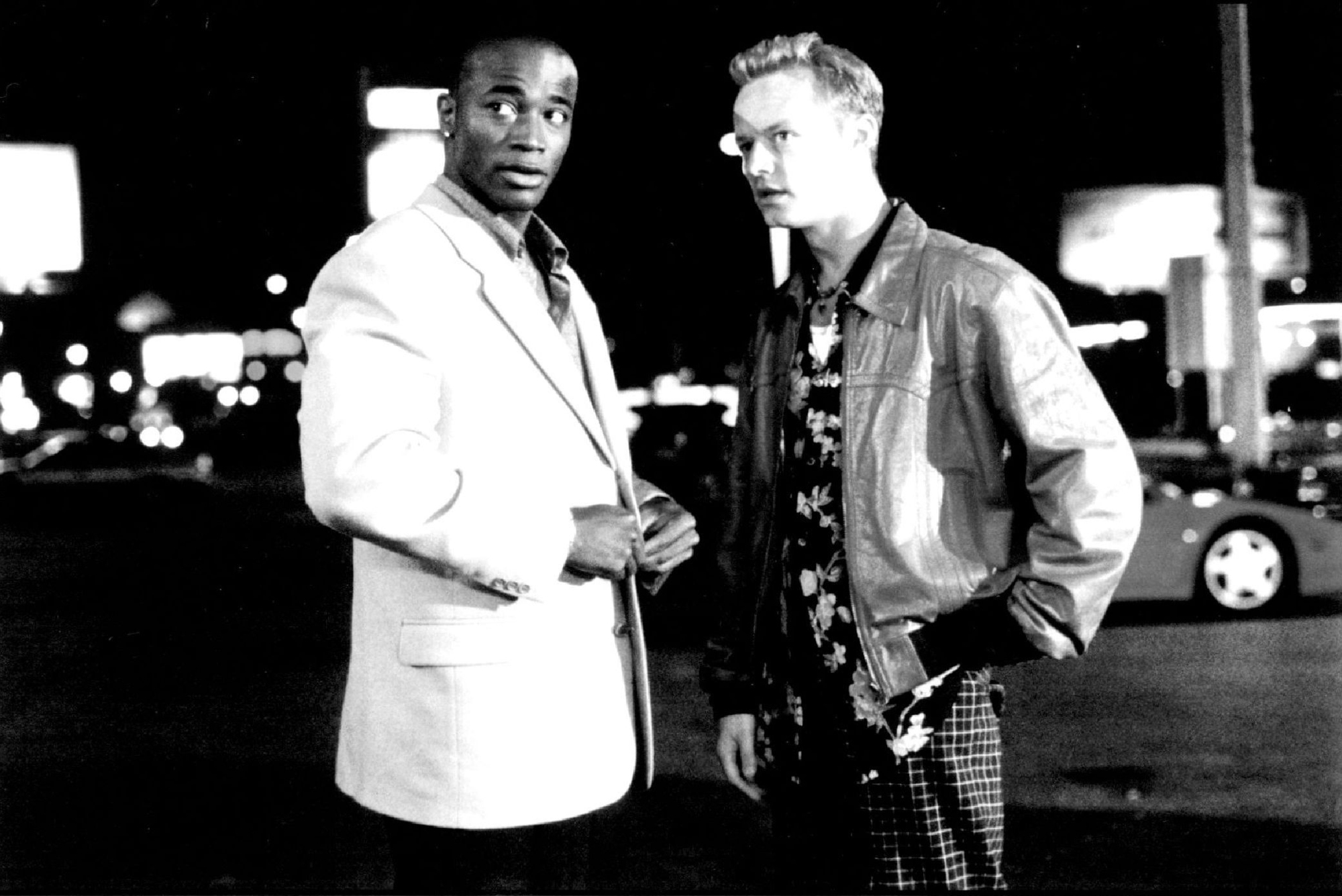 Taye Diggs and Desmond Askew in 'Go.'