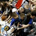 Steph Curry, shown here signing autographs at Target Center during his 2016 MVP campaign, is one of the biggest ticket draws in the NBA.