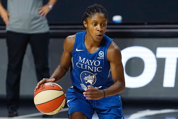 Lynx guard Crystal Dangerfield was the WNBA Rookie of the Year last season, but coach Cheryl Reeve has plenty of ideas on how Dangerfield can improve
