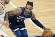 In 13 games in April, Wolves guard D'Angelo Russell is averaging 19.6 points and 5.5 assists in 25.9 minutes. Coach Chris Finch has been bringing Ru