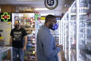 Kyler Heard shopped at Oxboro Market, a Bloomington tobacco shop. The city voted to end sales of flavored tobacco products beginning in January.