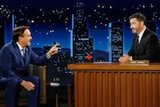 "MyPillow's Mike Lindell appeared on ABC's ""Jimmy Kimmel Live"" on Wednesday."