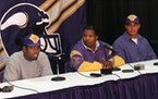 Randy Moss and Dennis Green after the 1998 draft