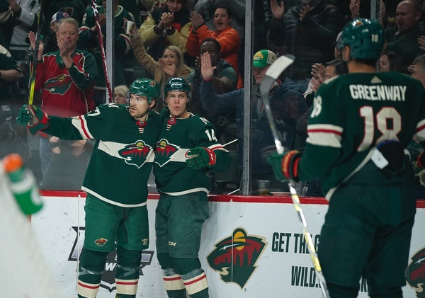 Line of Greenway, Eriksson Ek and Foligno keeps producing for Wild