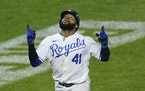 The Royals' Carlos Santana has a team-high 19 RBI and 16 walks after signing a two-year, $17.5 million deal in the offseason.