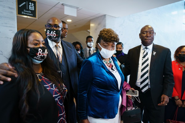 D.C. visit gives Floyd family hope for police reform