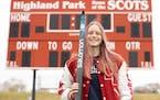 Molly Moening, St. Paul Highland Park girls' Nordic skiing, 2021 Star Tribune Girls' Nordic Skier of the Year. Photo taken April 23, 2021. Photo: