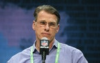 Vikings GM Rick Spielman could be active again in the final two days.