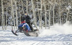 Polaris Industries said snowmobile sales were the best in nearly 25 years in this year's first quarter. The company rolled out 22 new models last mo
