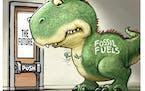 Sack cartoon: The future of energy