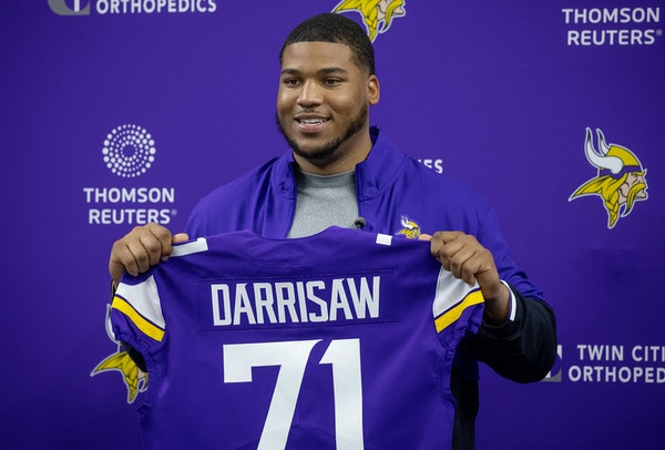 Vikings have deals with at least five draft picks